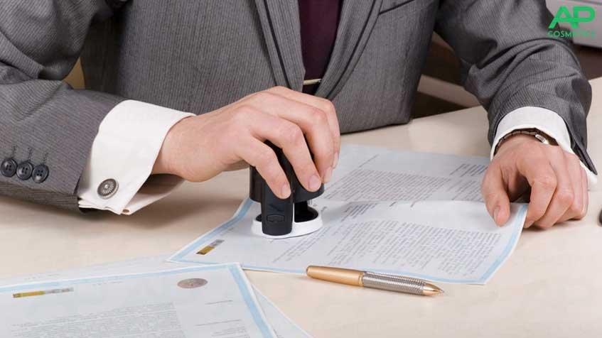Заключение договора на поставку косметологического оборудования AP-COSMETICS
