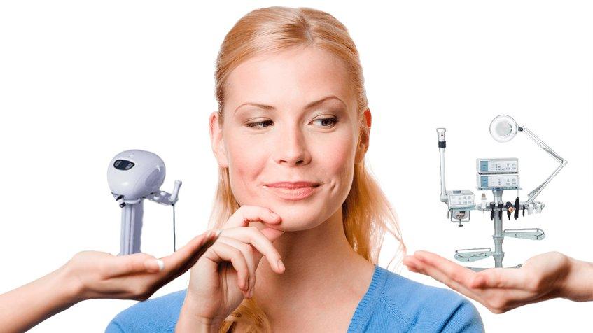 многофункциональное косметологическое оборудование