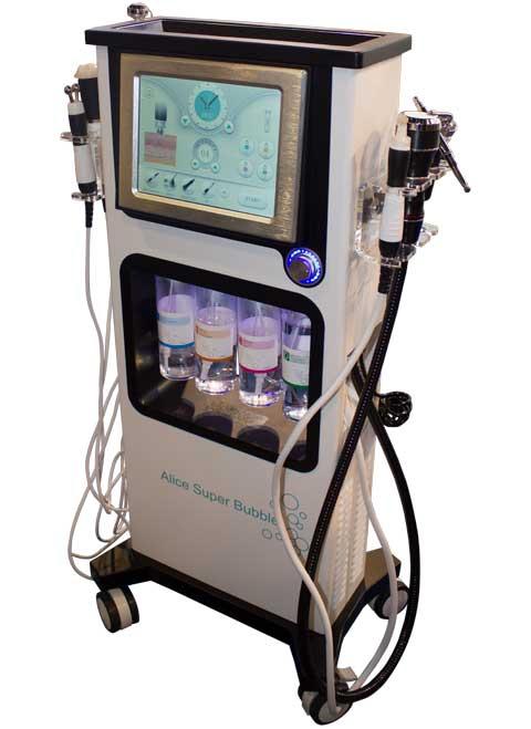 AquaFacial Lux профессиональный аппарат для глубокого увлажнения и чистки